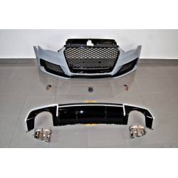 Body Kit Audi A3 V8 13-15 4 Doors Look RS3