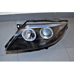 Set Of Headlamps BMW Z4 2003-2008 Black