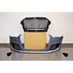 Paragolpes Delantero Audi A3 2013-2015 4 Puertas / Cabriolet Look RS3