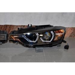 Fanali Day Light De Dia BMW F30 / F31 Xenon DRL Black