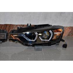 Set Of Headlamps Day Light BMW F30 / F31 Xenon DRL Black