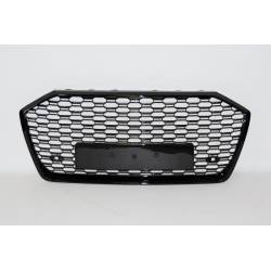 Front Grill AUDI A6 2020 Look RS6 BLACK