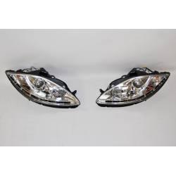 Set Of Headlamps Day Light Seat Leon 2009-2012