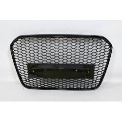 FRONT GRILL AUDI A6 11-15 LOOK RS6 BLACK