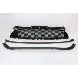 Front Grill Mini Cooper S56S 07-13 Black Look JCW
