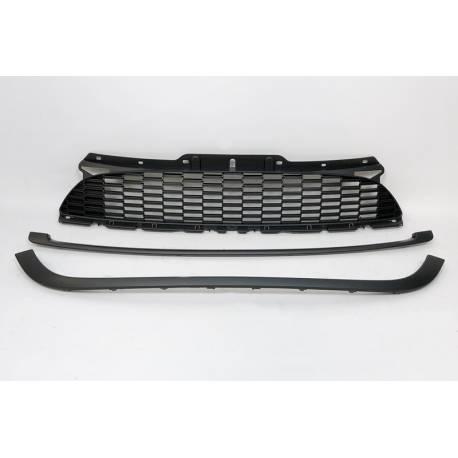 Parrilla Mini Cooper S56S 07-13 Black Look JCW