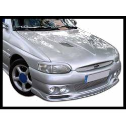 Front Bumper Ford Escort 1995, 4 Headlamps Type