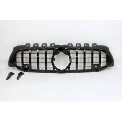 Front Grill Mercedes W177 / V177 Look GTR Camera 360 Glossy Black