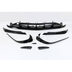 Front Spoiler Mercedes W176 16 Look AMG A45 Glossy Black
