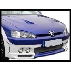 Front Bumper Peugeot 106 2000, 4 Headlamps Type