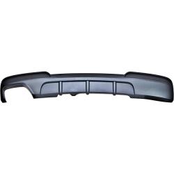 Rear Diffuser BMW F10/ F11 look Performance 1 Exhaust ABS