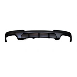 Rear Diffuser BMW F10/ F11 Performance 2 Exhaust Double ABS
