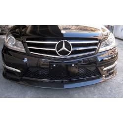 Spoiler Delantero Mercedes W204 C63 2011-2014 Carbono