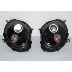 Faros Delanteros Mini Cooper R55 / R56 / R57 06-10 Black