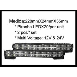 Pair Of Led Lamps, Daylight Function II