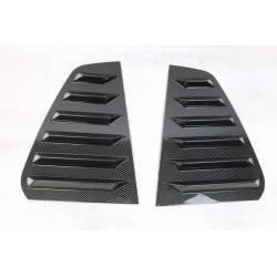 Cubre ventanillas Volkswagen Golf 7 / 7.5 5 Puertas Look Carbono