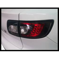 Pilotos Traseros Mazda 3 '03-'08 4P Black Led