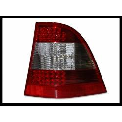 Set Of Rear Tail Lights Mercedes W163 2002-2004 Ml Led Red