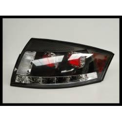 Set Of Rear Tail Lights Audi TT 1999-2007, Led Black