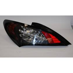 Set Of Rear Tail Lights Hyundai Genesis Led Black