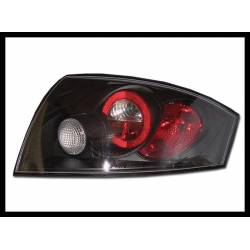 Set Of Rear Tail Lights Audi TT 98-05 8N Lexus Black