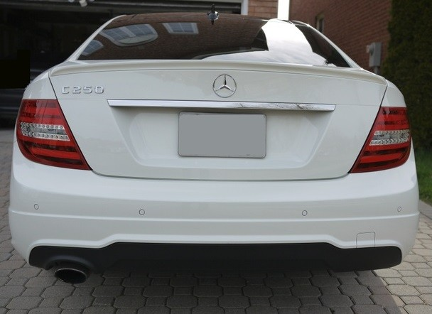 Spoiler Mercedes W204 Coupe 2007-2013 Look C63 AMG - Eurolineas Personales