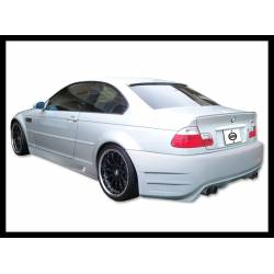 Rear Bumper BMW E46 Coupe 98-05 Double Exhaust
