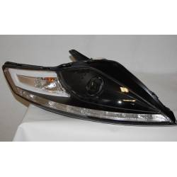 Set Of Headlamps Day Light Ford Mondeo From 2007 Onwards Black