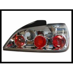 Set Of Rear Tail Lights Peugeot 406 1996, Lexus Chromed