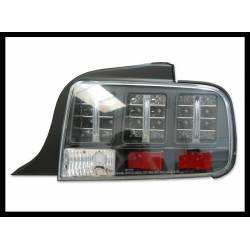 Set Of Rear Tail Lights Ford Mustang 2005 Lexus Black