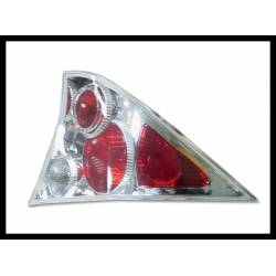 Set Of Rear Tail Lights Honda Civic 2000 Coupe Lexus Chromed