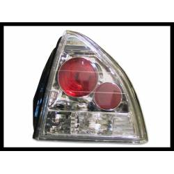Set Of Rear Tail Lights Honda Prelude 1992 Lexus Chromed