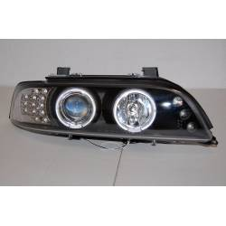 Faros Delanteros BMW E39 95-03 Black Int.Led