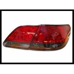 Set Of Rear Tail Lights Lexus 330 2005 Led Red