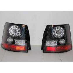 Pilotos Traseros Range Rover Sport 06 Led Black  Interm. Led