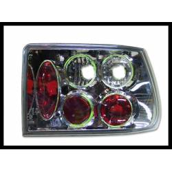 Set Of Rear Tail Lights Opel Astra F Lexus Chromed