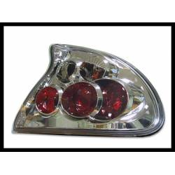 Set Of Rear Tail Lights Opel Tigra Lexus Chromed