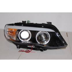 Set Of Headlamps Day Light BMW X5 E53 '03-'06 Black