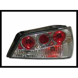 Set Of Rear Tail Lights Peugeot 306 1993-1997, Lexus Chromed