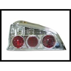 Set Of Rear Tail Lights Peugeot 106, Lexus Chromed Type II