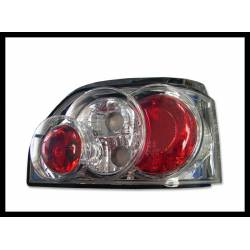 Set Of Rear Tail Lights Renault Clio I Lexus Black