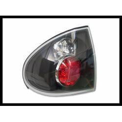Set Of Rear Tail Lights Renault Laguna 1995 Lexus Black