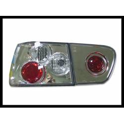 Set Of Rear Tail Lights Seat Ibiza 2000-2001 Lexus Chromed