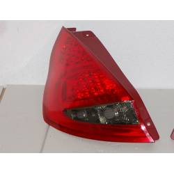 Set Of Rear Tail Lights Ford Fiesta 2009, Led Red