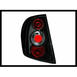 Set Of Rear Tail Lights Skoda Fabia, Lexus Black