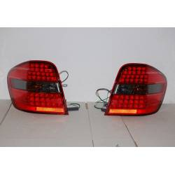 Pilotos Traseros Mercedes Ml W164 '06 Led Smoked