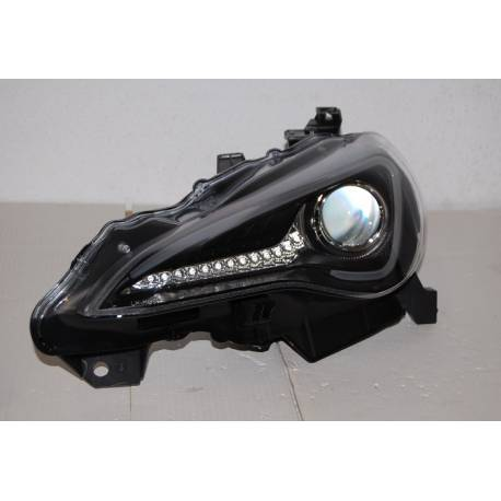 Set Of Headlamps Toyota GT 86 2012 Daylight Black