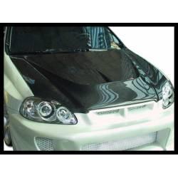 Capó Carbono Honda Civic '96 2-3-4P. C/T