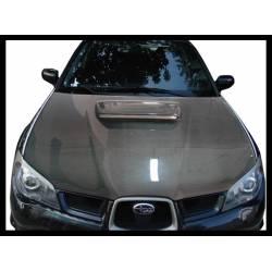 Carbon Fibre Bonnet Subaru Impreza 2006, Without Air Intake