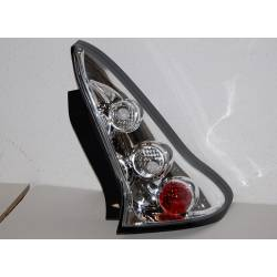 Set Of Rear Tail Lights Citroen C4 Lexus Chromed